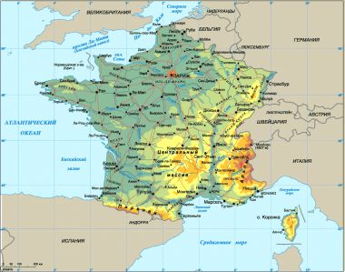 Экскурсионные туры во францию