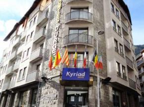 Kyriad Andorra Comtes d'Urgell фасад