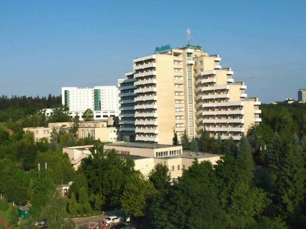 Санаторий «Молдова» фасад
