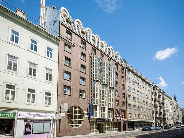 Enziana Hotel Vienna 3* (ex. Artis Wien). Фасад