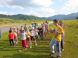 Детский лагерь Карпатське Левеня