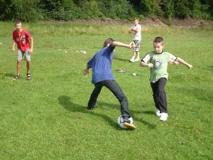 Детский лагерь Карпатське Левеня футбол