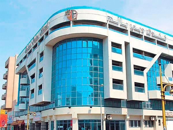 Dubai Palm фасад