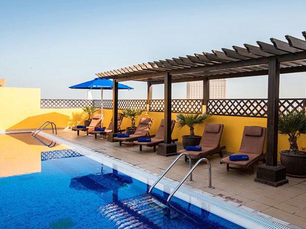 Citymax Hotel Sharjah бассейн