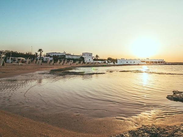 La Peschiera пляж