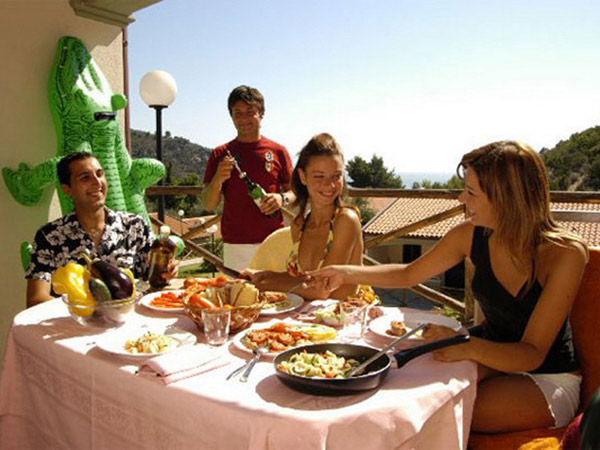 Villette Belvedere Villa - Pugnochiuso Resort терраса