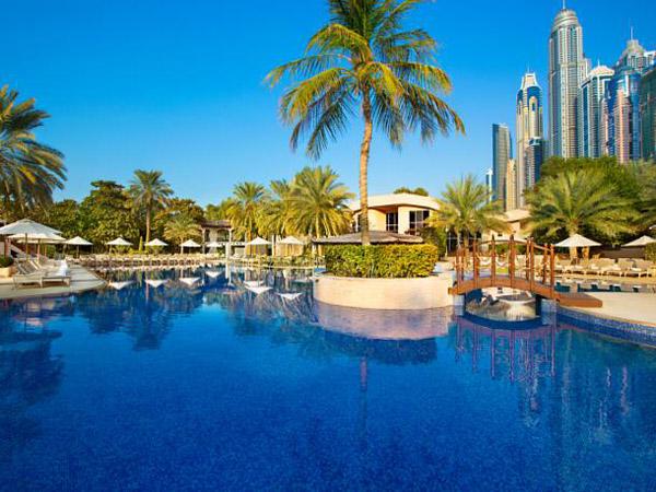 Habtoor Grand Resort & Spa бассейн