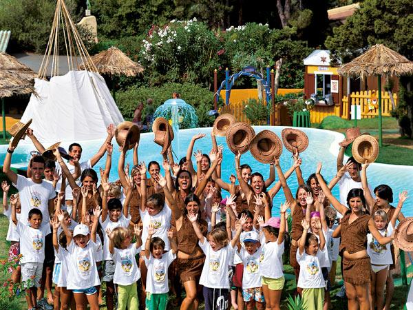 Forte Vilage Le Palme занятия с детьми