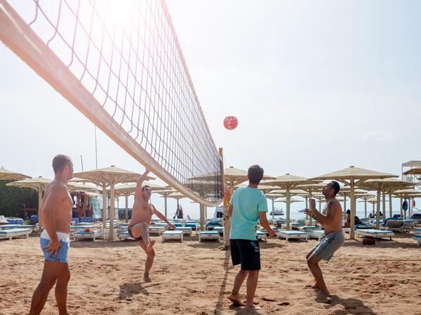 Novotel Palm спортиная площадка