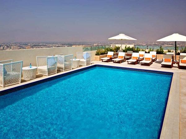 Doubletree By Hilton Ras Al Khaimah бассейн