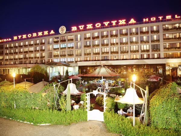 Гостиница Буковина фасад