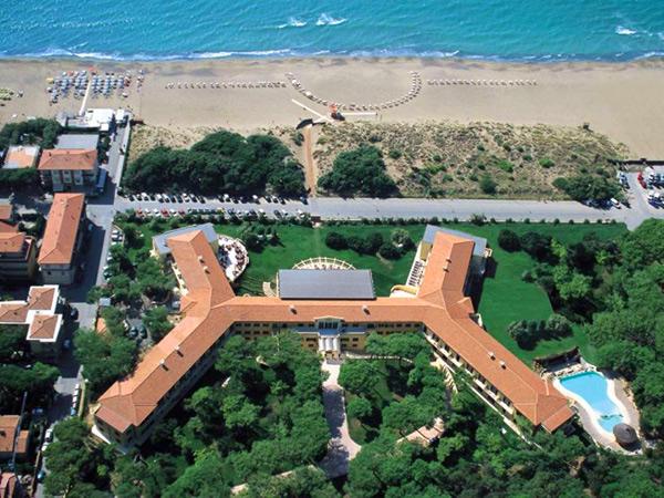 Tombolo Thalasso Resort  панорама