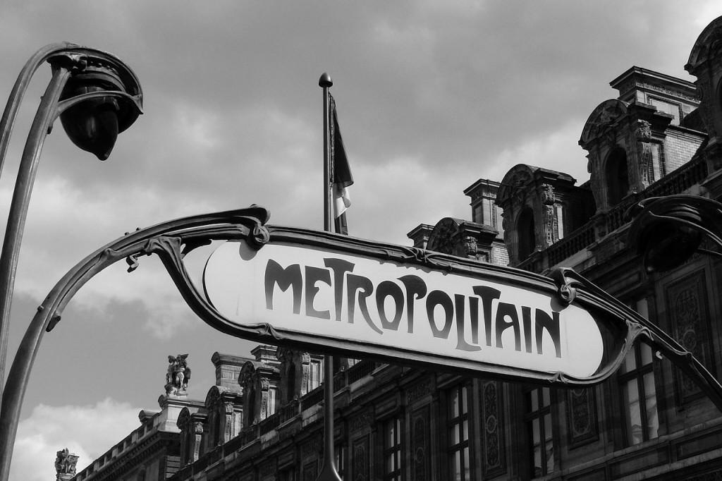 Париж метро
