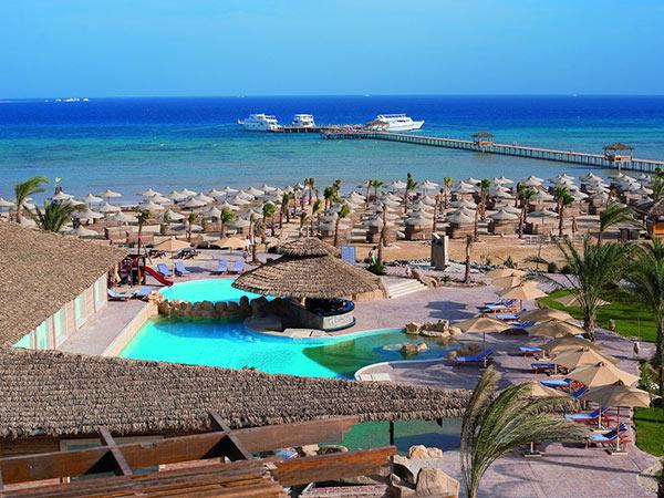 Amwaj Blue Beach Resort & Spa Abu Soma панорама