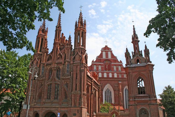 Путешествие по Литве: церковь Святой Анны
