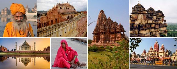 Индия золотой треугольник