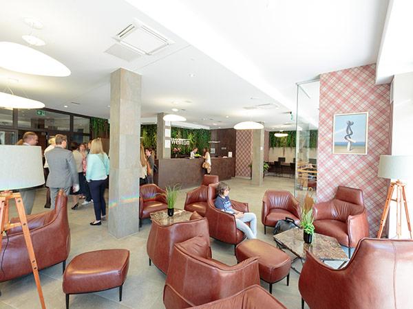 Wellton Hotel Riga лобби