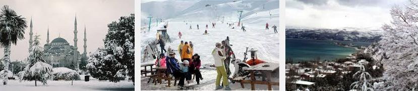 Зима в Турции