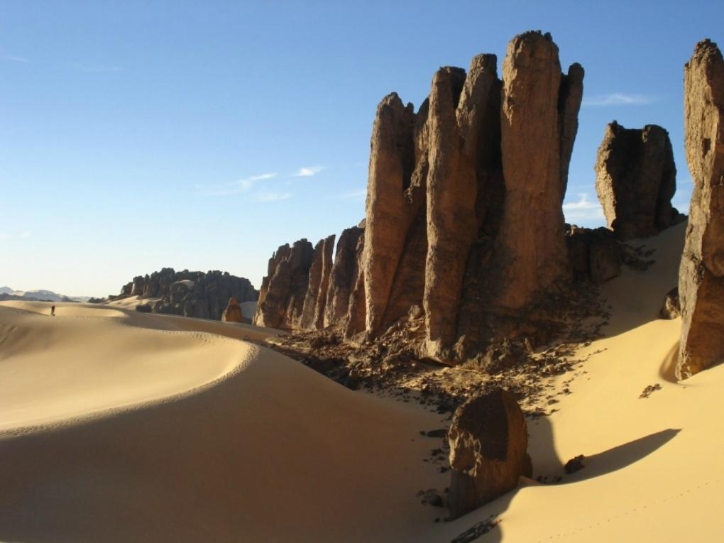 новость пейзажи Образования в пустыне Сахара