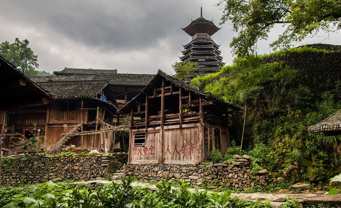 новость Маленькие деревушки Гуйчжоу, Китай