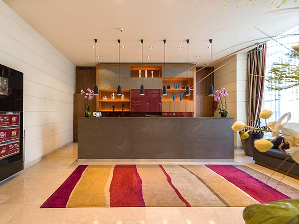 K&K Palais Hotel рецепция