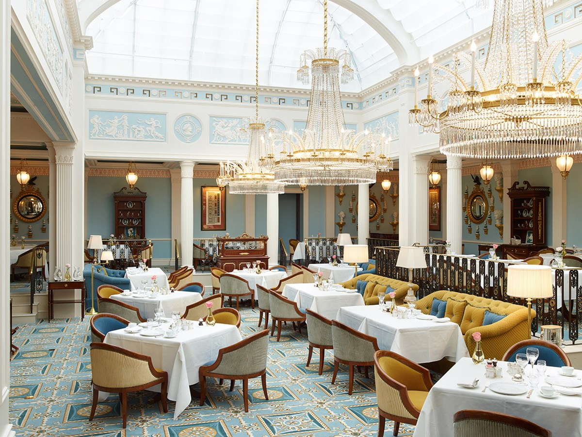 Ресторан Céleste в отеле The Lanesborough