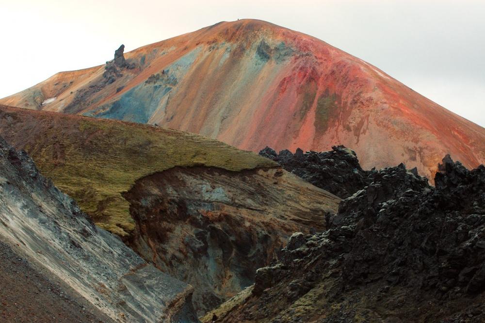 Парк Ландманналаугар в Исландии