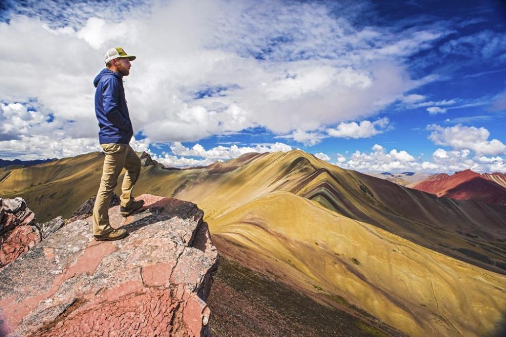 Гора Виникунка в Перу