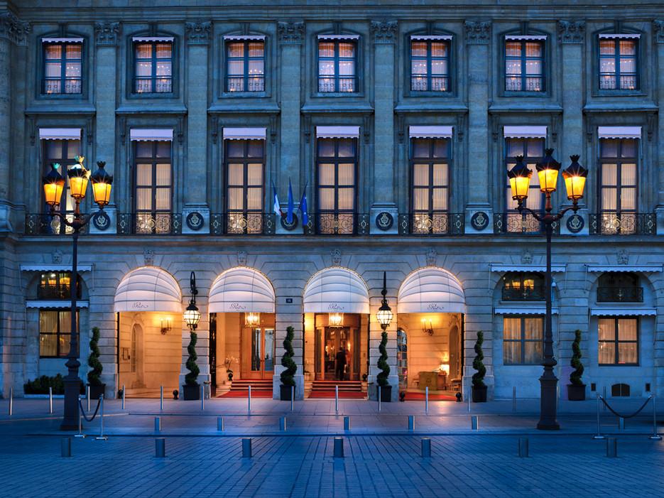 Парижский Ritz архив пресс-служб