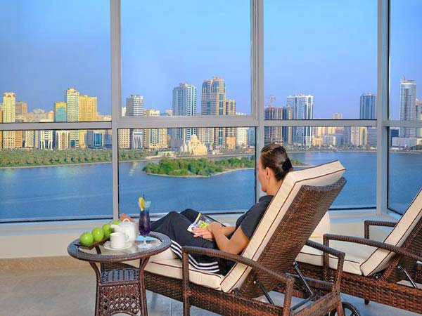 Copthorne Hotel Sharjah вид из отеля