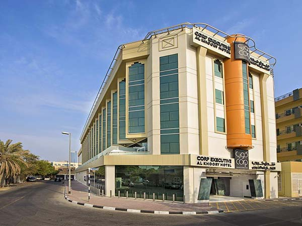 Corp Executive Al Khoory фасад