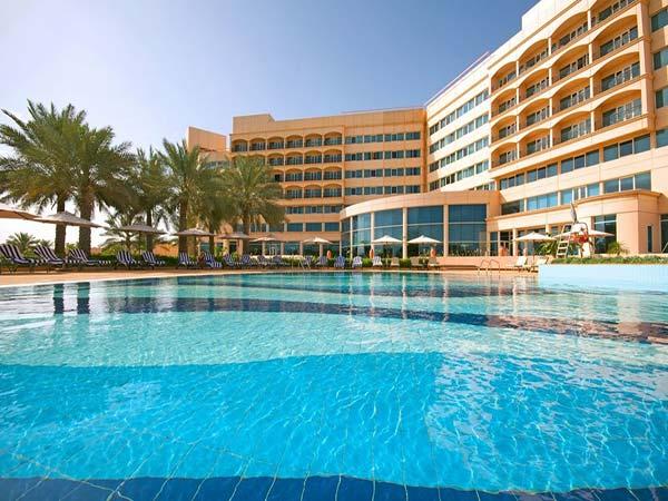 Danat Jebel Dhanna Resort бассейн 2