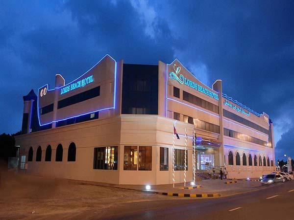 Lavender Hotel Sharjah фасад