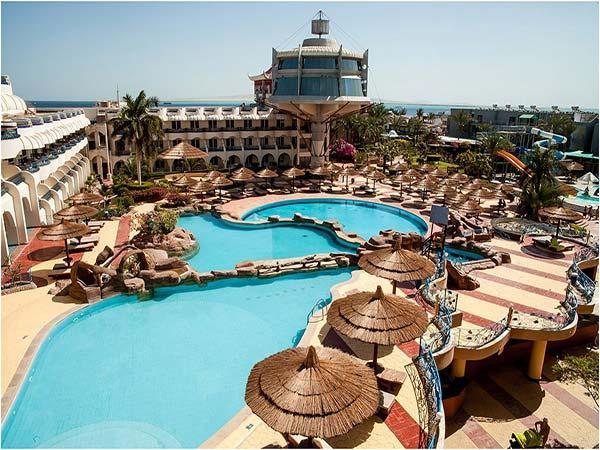 Premium Seagull Resort Hurghada бассейн