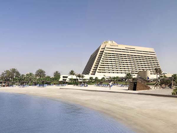 Radisson Blu Resort Sharjah фасад