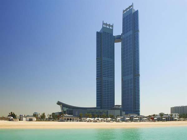 The St Regis Abu Dhabi фасад