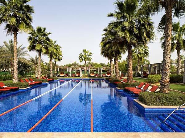 The Westin Abu Dhabi Golf Resort & Spa бассейн 1