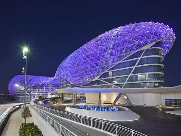 Viceroy Yas Abu Dhabi фасад 1