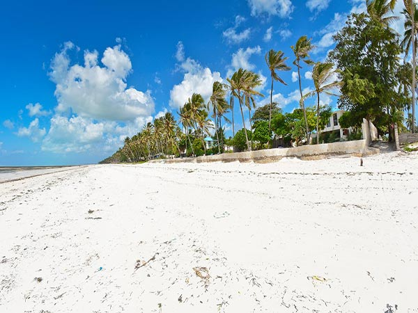 Indigo Beach Zanzibar пляж 1