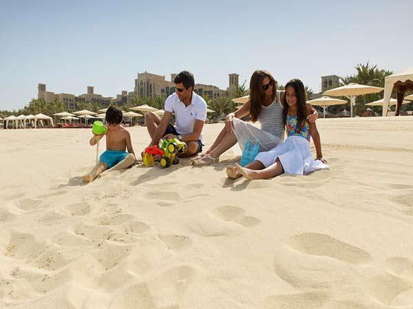 Madinat Jumeirah Mina A Salam пляж 1