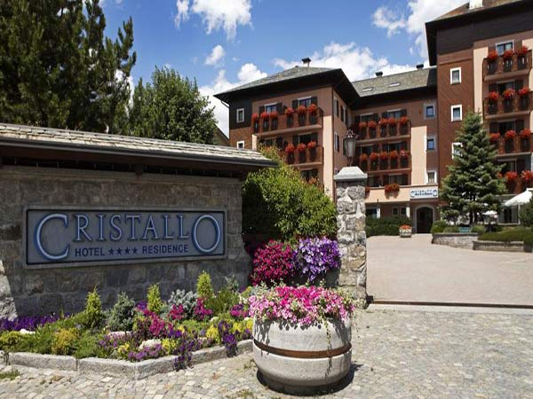 Cristallo Hotel & Residence фасад