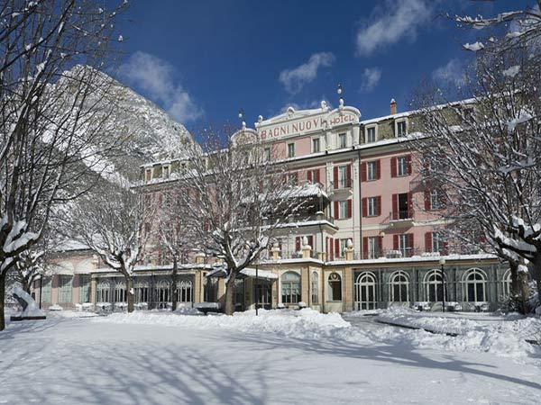 Grand Hotel Bagni Nuovi фасад