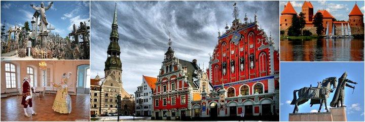 Экскурсионный тур по двум странам: Литва-Латвия