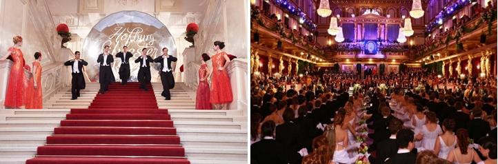 Новогодний бал во дворце Хофбург