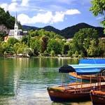 Летний отдых на озерах Словении