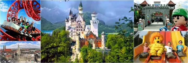 Экспресс Тур Для детей и их родителей -  каникулы в Германии - групповой тур в Мюнхен