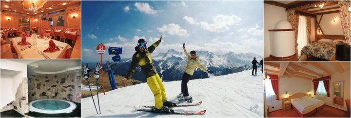 Новый год в итальянских Альпах!1