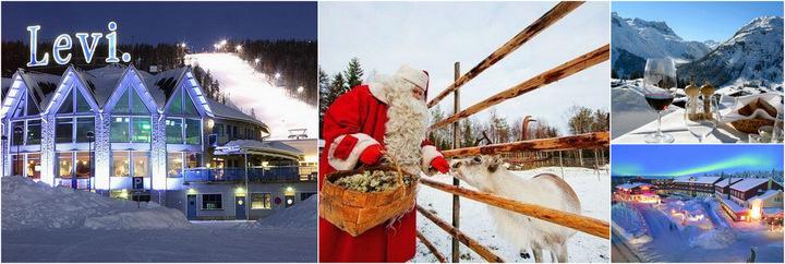 Туры на Рождество в Финляндию!