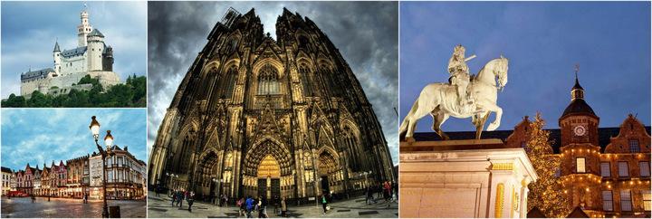 Два великих собора и рыцарские замки Дюссельдорф-Аахен-Кельн-Рейн-Мозель