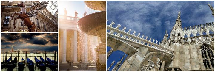 Италия классика Рим-Милан